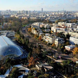 Grande serre tropicale du zoo de Paris à Vincennes ® F-G Grandin MNHN