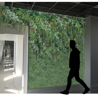 Mur vegetal GRDF
