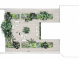 Terrasse - Washington Plaza - ©atelierplantago